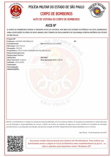 DCFire - Serviços - AVCB